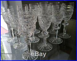 Waterford Crystal Castletown set of 6 Sherry glasses EXCELLENT CONDITION