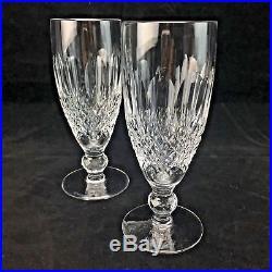 Waterford Crystal Colleen Claret Wine Glasses Short Stem 4 3/4 Stemware Set (2)