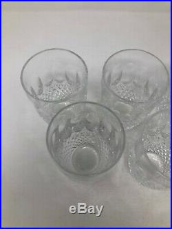 Waterford Crystal Colleen Set of 5 Flat Tumblers 10 oz 4 1/4