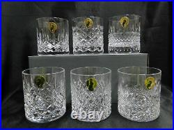 Waterford Crystal Connoisseur Heritage NEW 6 Whiskey Glass Set, 3 1/8, Box