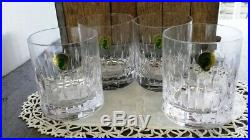 Waterford Crystal Enis Double Old Fashioned Glasses Set of Four New