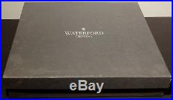 Waterford Crystal Executive Desk Set Pens Paper Weight In