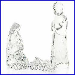 Waterford Crystal Holy Family Nativity Set of Three Figurines