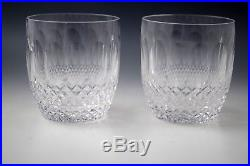 Waterford Crystal Ireland Colleen Short Stem Set Of 2 Old Fashioned 3.1/2