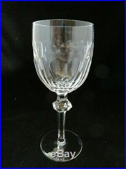Waterford Crystal Ireland Curraghmore Set of 4 Water Goblets 7 5/8 Tall