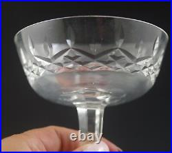 Waterford Crystal Ireland Lismore Set Of 9 Champagne Tall Sherbet
