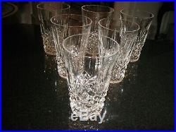Waterford Crystal Kenmare 12 OZ TUMBLERS 5 Tumblers Set Of SIX (6)