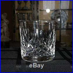 Waterford Crystal LISMORE Old Fashioned Glass Tumblers Ireland Set Of 5