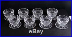 Waterford Crystal LISMORE Set of 12 Spectacular Footed Dessert Bowls 3 7/8