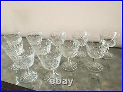 Waterford Crystal Lismore Cocktail Glasses Set of 11