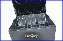 Waterford Crystal Lismore Essence Goblet Glasses Deluxe Gift Box 155950 Set of 6
