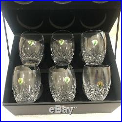 Waterford Crystal, Lismore Glasses Box Set of 6