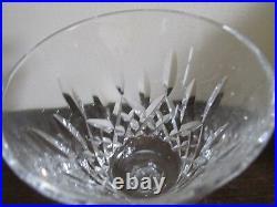 Waterford Crystal Lismore Set Of 6 Wine Glasses 5 7/8
