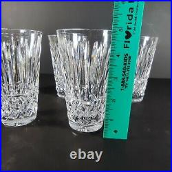 Waterford Crystal MAEVE 5 HIGHBALL TUMBLERS 12 oz GLASSES Set of 5 Excellent