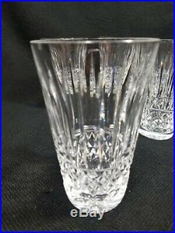 Waterford Crystal Maeve Tramore 12oz Tumbler 4 3/4 Vintage Ireland Set of 7pc