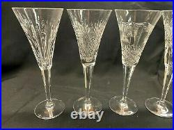 Waterford Crystal Millennium Collection Toasting Flutes Set of 4! Excellent