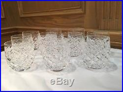 Waterford Crystal Powerscourt Old Fashioned Glasses Set Of 10, Ireland