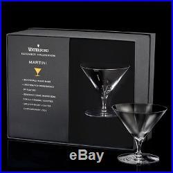 Waterford Elegance Martini Glass Set of 4