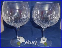Waterford Gin Journeys Lismore Balloon Glasses Set of 2 New