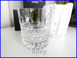 Waterford IRISH LACE Tumblers Double Old Fashioned DOF Glasses SET / 2 NEW BOX