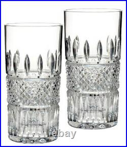 Waterford Irish Lace Highball Set of 2 Glasses 12 oz. #156768 New In Box