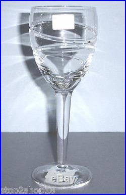 Waterford Jasper Conran AURA Red Wine SET/4 Glasses IRELAND Crystal 146951 New