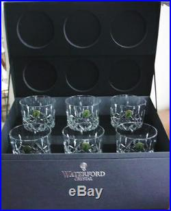 Waterford LISMORE DOF's Double Old Fashioned Set / 6 GIFT BOX NEW