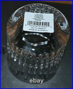 Waterford Lismore 165028 Crystal Diamond Tumbler Set/4 New