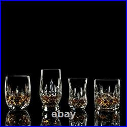 Waterford Lismore Connoisseur Whiskey Tumbler Mixed Set of 4 #40003439 NEW