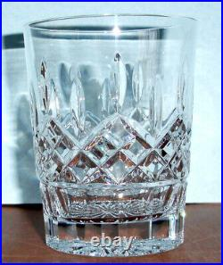 Waterford Lismore Crystal Double Old Fashioned DOF 6 PC. Glass Set #156437 New