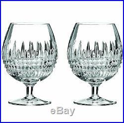 Waterford Lismore Diamond Brandy Glasses, Set of 2 16 oz
