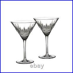 Waterford Lismore Diamond Martini Set of 2