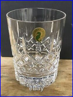Waterford Lismore Double Old Fashioned Set of 5 Deluxe Set New