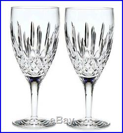 Waterford Lismore Nouveau Iced Beverage Set of 2 #154043 New in Box