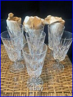 Waterford Lismore Tall Iced Beverage Glasses (PERFECT CONDITION)- Set of 10
