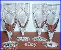 Waterford SIREN Iced Beverage Glass SET/4 Crystal Ireland 18oz #136775 New