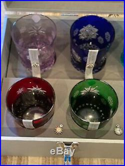 Waterford Snowflake Wishes Cased Double Old Fashioned, Set of 10