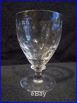 William Yeoward Crystal Ernestine Pattern Wine Glasses Set of 15