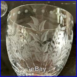 William Yeoward Fern Set of 2 Wine Glasses in The Original Box