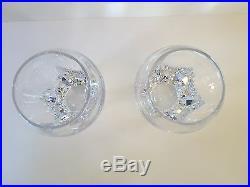 William Yeoward Freddie Double Old Fashioned Tumbler Set of 2 Crystal 15 oz