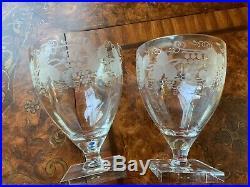 William Yeoward Leonora Glasses Set 2 New 51/4x4