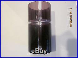 (set of 4) Ajka Hungary Movado Edition Highball Crystal Glasses